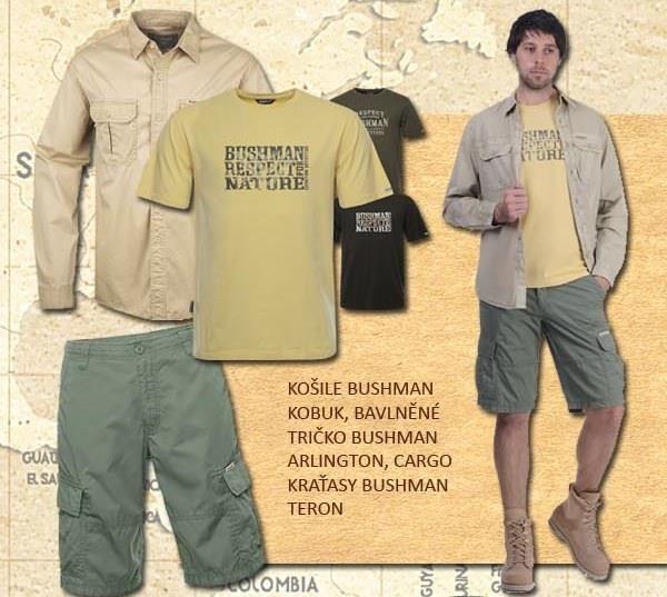 Na léto jako dělané...využijte slevy BUSHMAN. Více na www.bushmanshop.cz/