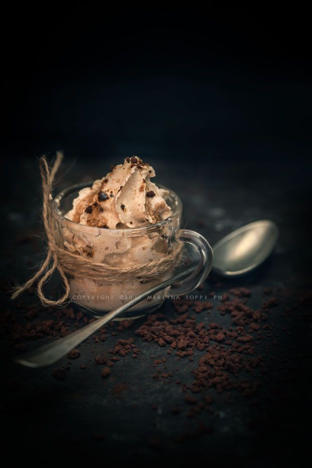 Mousse al caffè con sifone