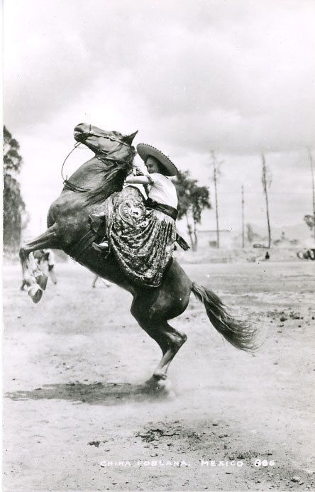 Never wanted to be a cowgirl. They had to stay at the ranch, didn't carry guns, and wore skirts.  Wanted to be a cowboy!