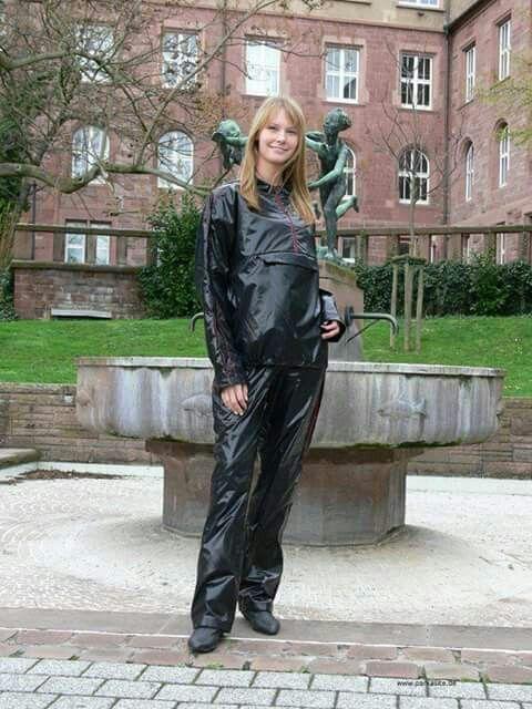Black rainsuit
