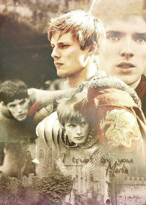 Merlin and Arthur- true meaning of best friends. This is the fandom that has taught me what loyalty and selflessness really are. <----This and Sherlock and Doctor Who and Star Trek, and I don't even know. I wish I never even would have gotten in to all this stuff because I have had my heart broken so many times as a result!