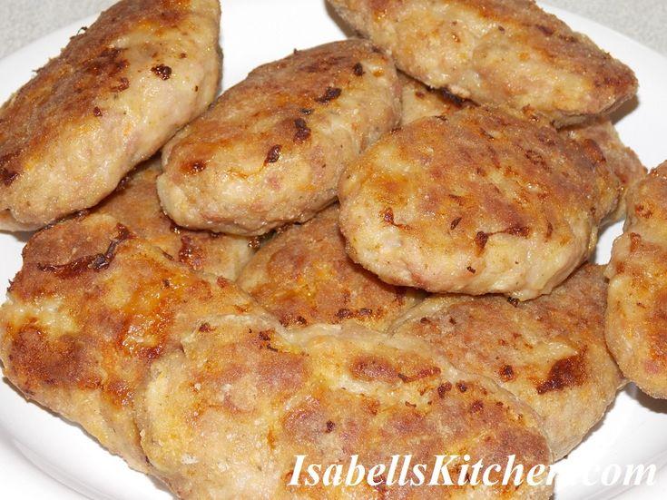 Moldavian meat patties (parjoale moldovenesti)