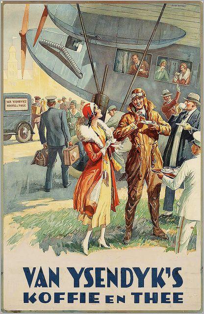 Allan Harker. Van Ysendijks Coffee and Tea. 1920s | Flickr - Photo Sharing!