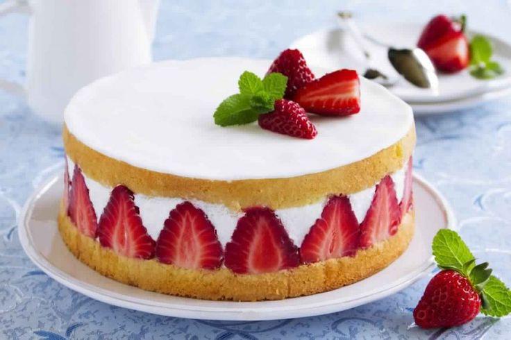 Fraisier http://www.recette-gateau.eu/meilleure-recette-fraisier/