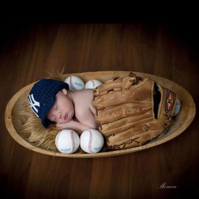 Yankee baby!Jason said if we have a boy this is his first baby pic