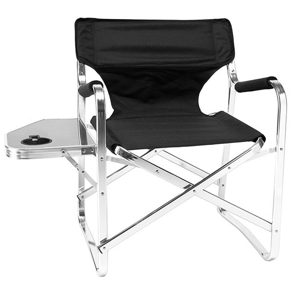 An Excellent Lightweight Design Using Flat Reinforced Aluminum Tubing Gives  This Deluxe Folding Director Chair A Unique Look. This Chair Is Stylish  Enough ... Awesome Ideas
