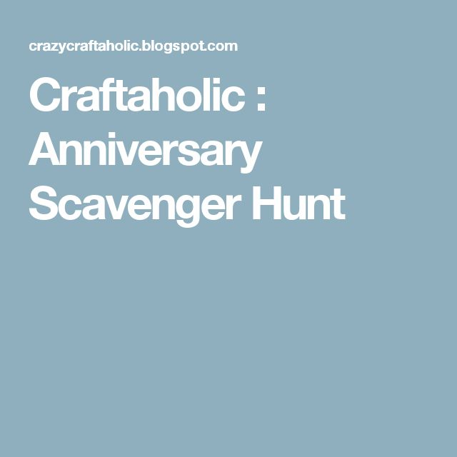 explore romantic scavenger hunt