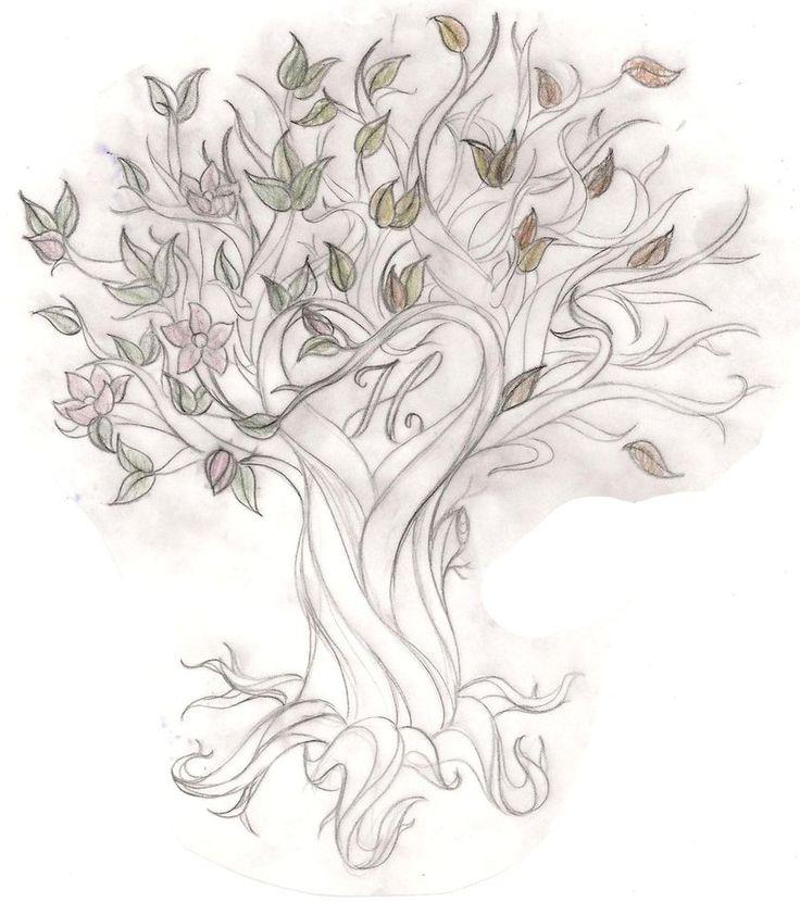 Tree Back Tattoos for Women   tree tattoo designs with names tree tattoo saarsel deviantart tattoos ...