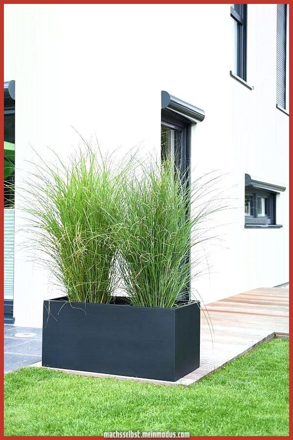 Glasfaserverstarkter Kunststoff Pflanzenschale Maxi Anthrazit