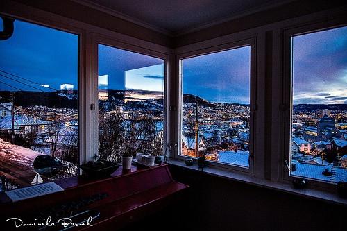 winter morning in Drammen Norway #drammen #norway #morning