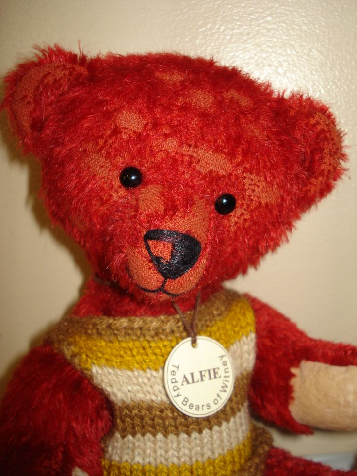 Alfie is a Teddy Bears of Witney limited edition bear,inspired by Alfonzo.