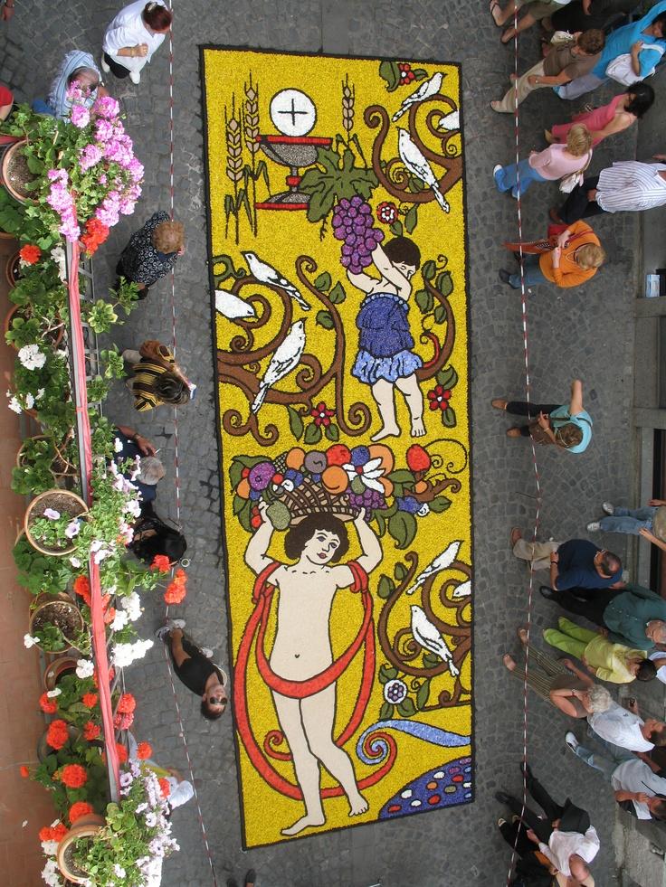 "Bolsena - ""Infiorata"" del Corpus Domini - Year 2006"