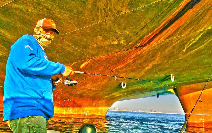 Pesca en buque