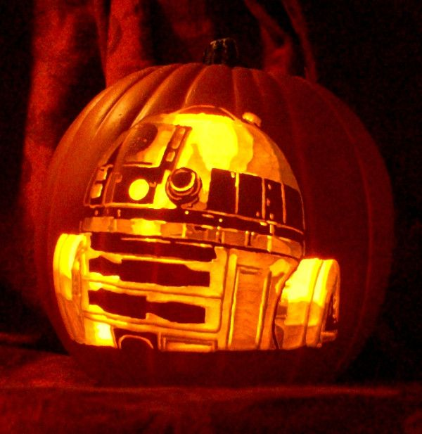 Pumpkin Carving Ideas Star Wars: 17 Best Images About !Pumpkins Galore! On Pinterest