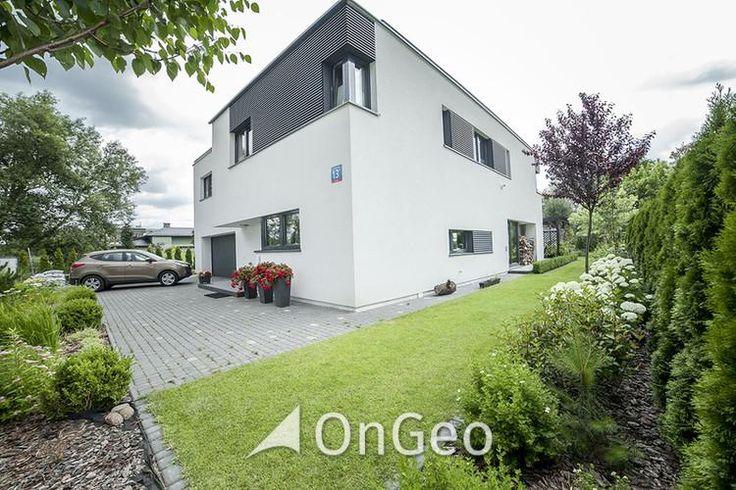 Dom na sprzedaż #Elegancki i luksusowy #dom z #ogrodem. Zupełnie #nowy, wykończony w najwyższym standardzie. #Warszawa, #Wlanów - #Powsin