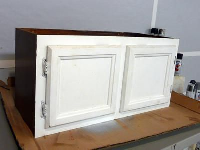 How to Make a Mudroom Bench Using Old Kitchen Cabinets : Home Improvement : DIY Network