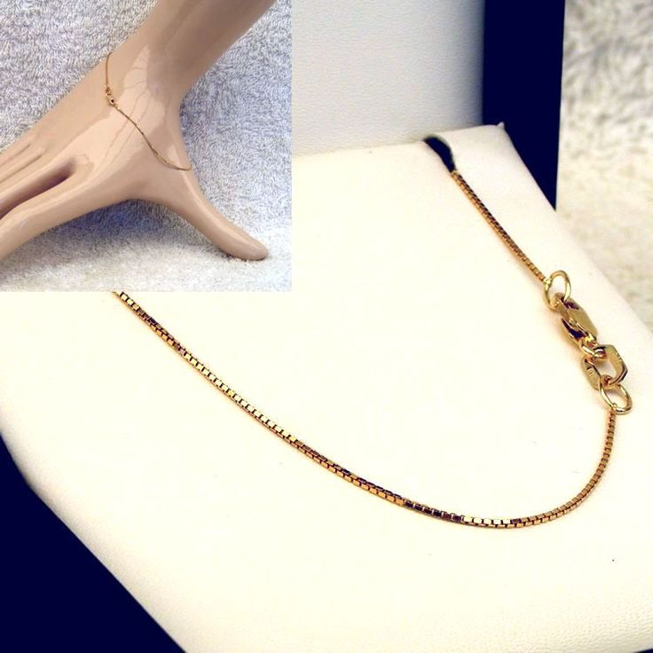 Buy 9ct Gold Gold Box Chain (MM-BOX-0002) online at Chain Me Up