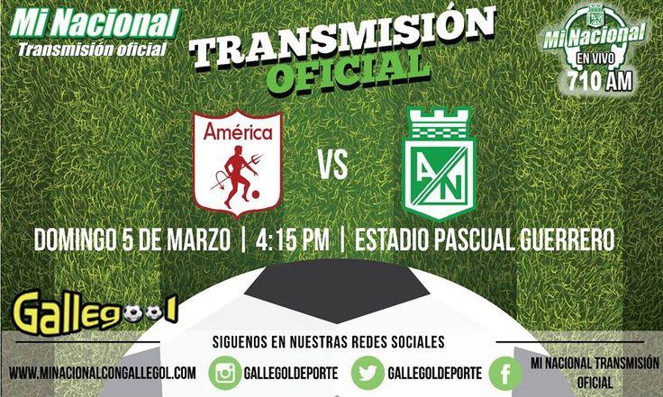 Disfruta de la transmisión oficial Mi Nacional, @GallegolDeporte por los 710 AM de Radio Red http://goo.gl/lMvHtS