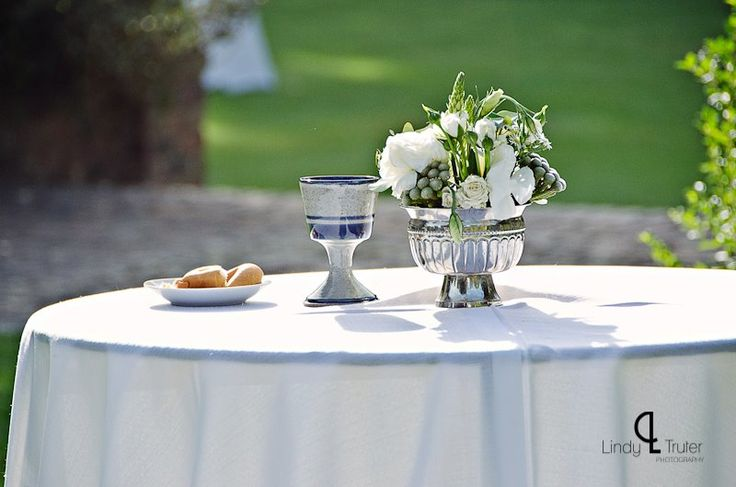 Communion at our wedding