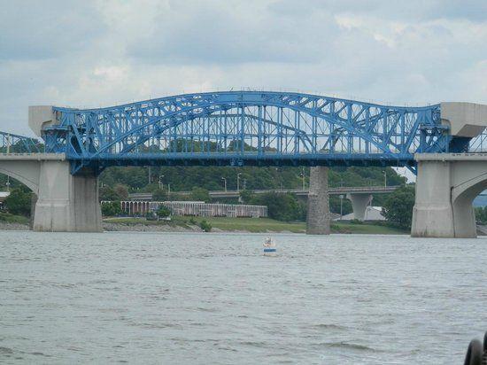 Walking Bridge - Picture of Chattanooga Ducks, Chattanooga ...