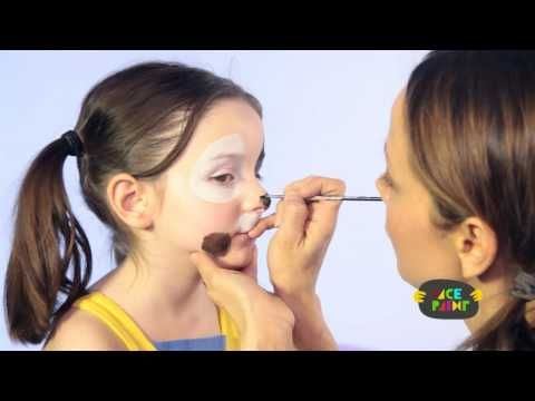 Dog Face Paint Tutorial
