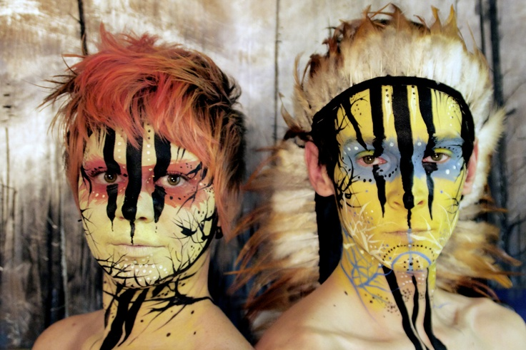 face paint lord of the flies