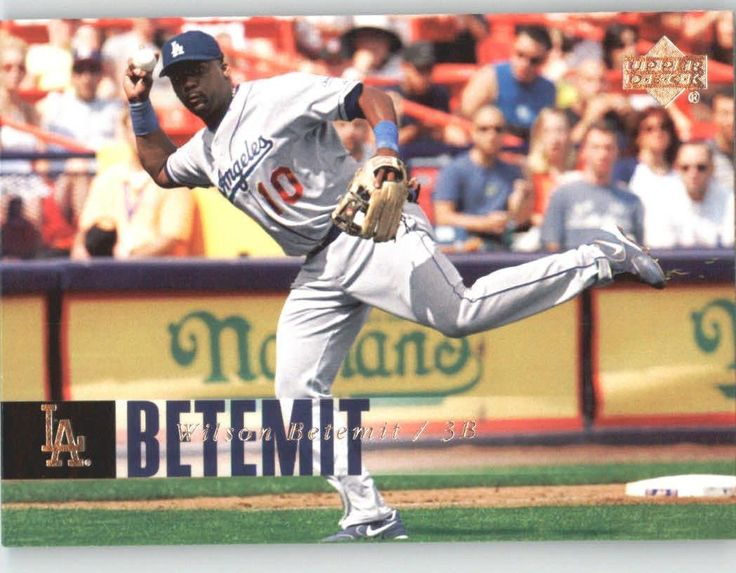 2006 Upper Deck 1100 Wilson Betemit - Los Angeles Dodgers (Update) (Baseball Cards) ** This is an Amazon Affiliate link. Check out the image by visiting the link.