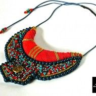 Colier – ZAHIRA by EXOTIC AFRICAN JEWELRY COLLECTION