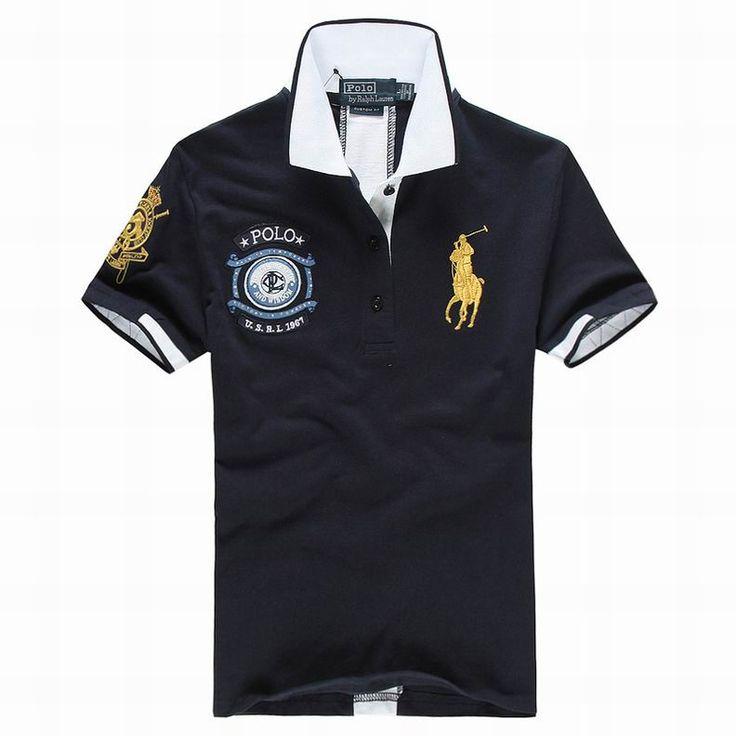 ralph lauren uk outlet Women's USRL 1967 Short Sleeve Polo Shirt Navy Blue  http:/