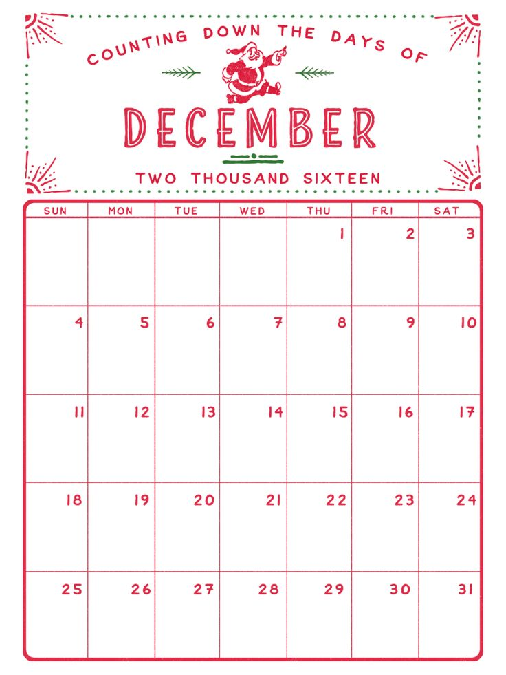 Christmas Calendar 2016 : Best december calendar ideas on pinterest
