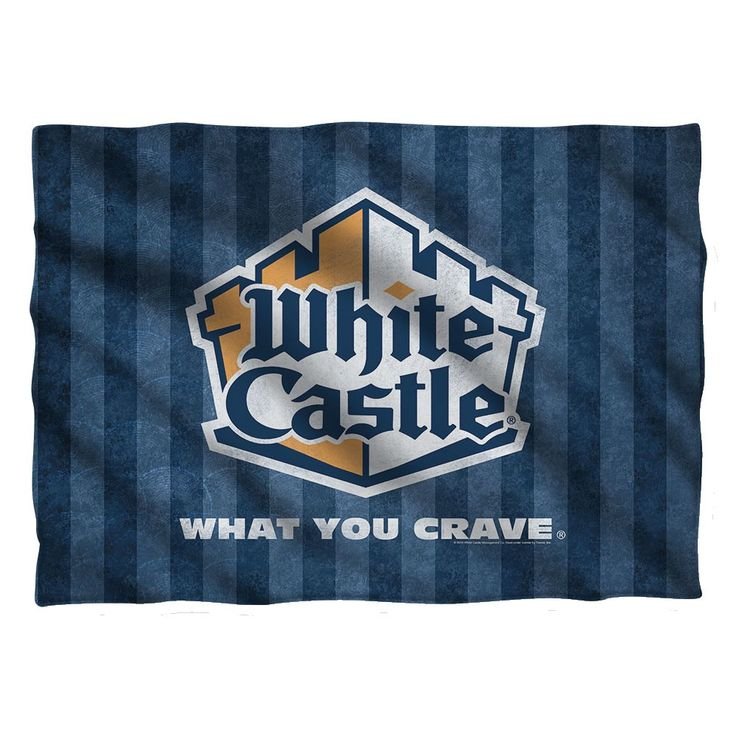 """Checkout our #LicensedGear products FREE SHIPPING + 10% OFF Coupon Code """"Official"""" White Castle/Logo-Pillow Case-White-One Size - White Castle/Logo-Pillow Case-White-One Size - Price: $25.99. Buy now at https://officiallylicensedgear.com/white-castle-logo-pillow-case-white-one-size"""