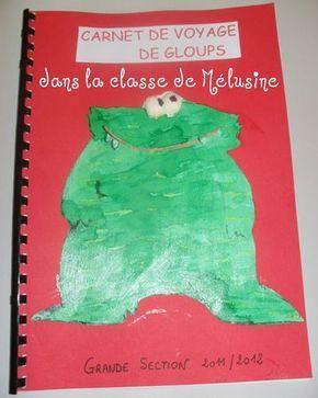 Carnet de voyage de la mascotte - la classe de Mélusine
