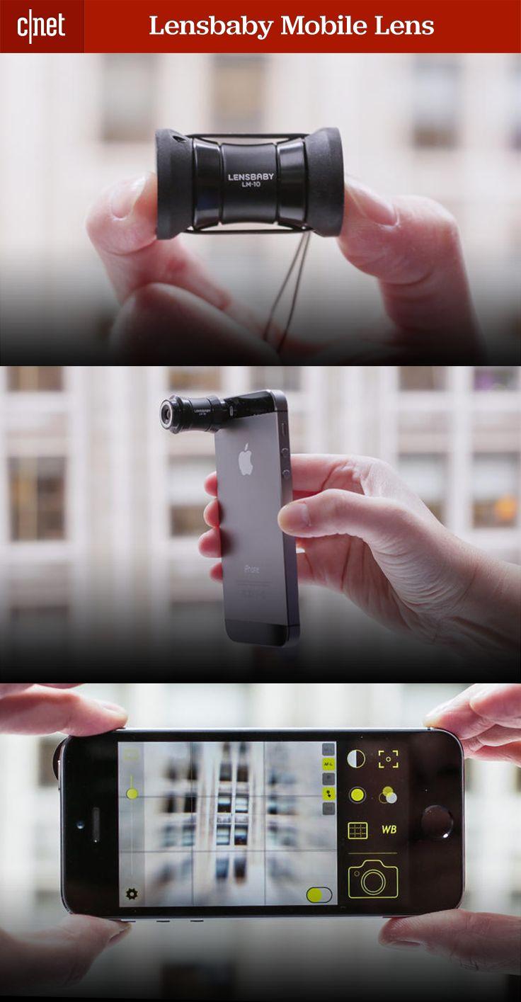 The Lensbaby mobile camera lens fits on both iPhone and Android phones | Criação de Sites |  Construção de Sites | Web Design | Manutenção | SEO | Portugal | Algarve - http://www.novaimagem.co.pt