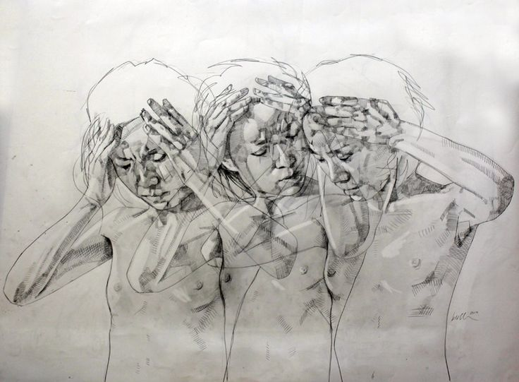 Simon Birch; Pencil drawing 2012