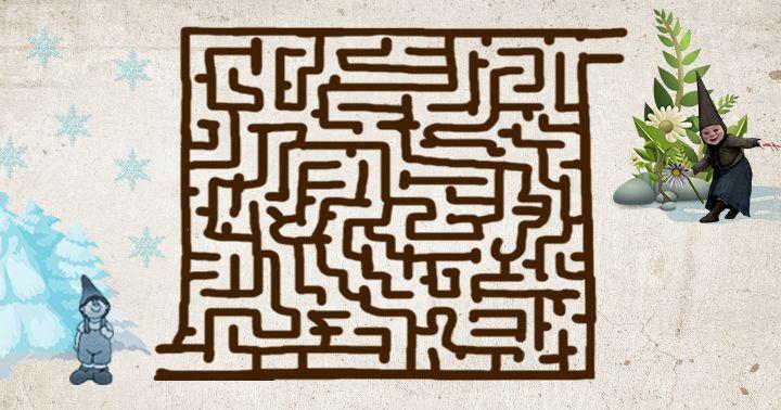 Labyrint: Skřítek už má dost zimy #agentimysterii #labyrint #labyrintprodeti #zabavaprodeti