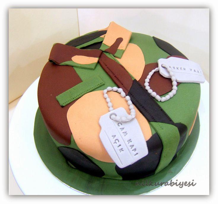 Nil Kurabiyesi - Tekirdağ Butik Kurabiye: Asker pastası..
