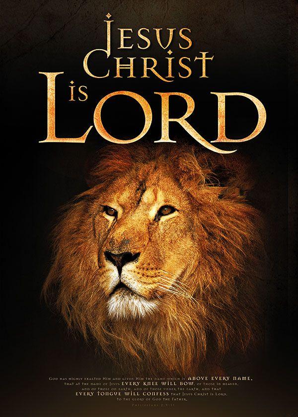 jesus christ is lord-God heeft hem hoog verheven en hem de allerhoogste titel geschonken, zodat iedereen in de hemel, op de aarde en onder de aarde, de knieën zou buigen voor hem die Jezus heet en allen openlijk zouden uitroepen, tot eer van God, de Vader: Jezus Christus is de Heer. (Filippenzen 2:9-11)