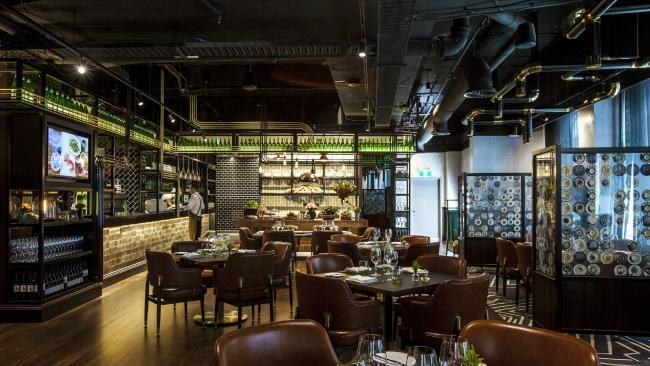 Telstra opens private restaurant The Exchange for corporate clients, not the public | DailyTelegraph