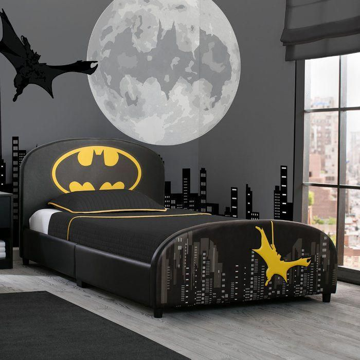 Dc Comics Batman Twin Platform Bed Diseno De Cama Para Ninos Decoracion Habitacion Nino Temas De Cuarto
