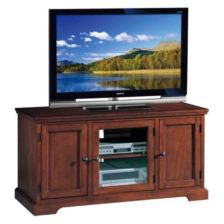 Leick Home Westwood 50 inch TV Stand for TV's up to 50 inch, Red