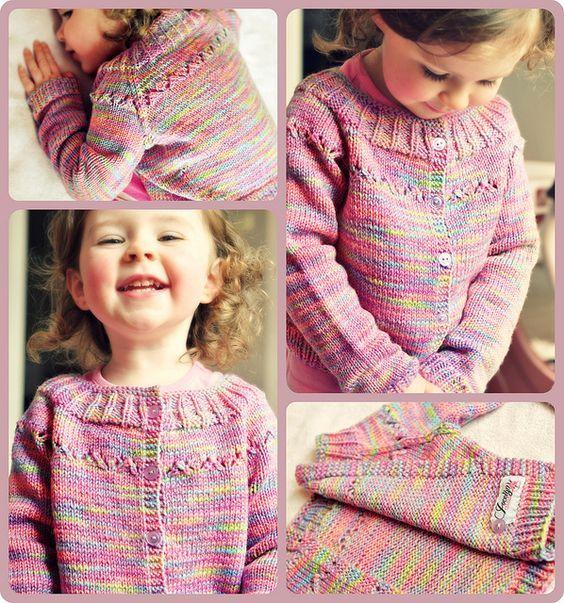 jelly bean sweater by knittingcrush- free pattern