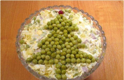 Salade Russisch Ei (Voor de Kerst)