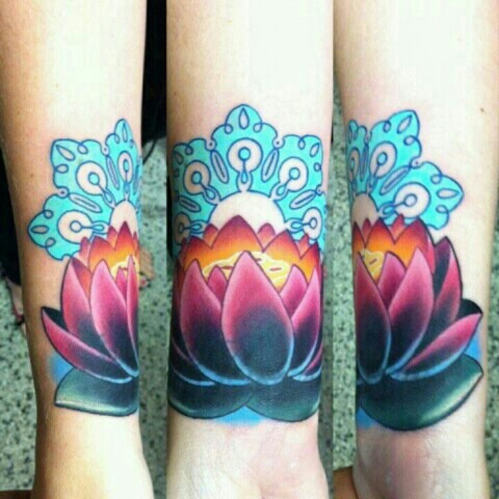 maybe a lotus flower for my wrist cover up tattoos pinterest blue colors colors and the. Black Bedroom Furniture Sets. Home Design Ideas