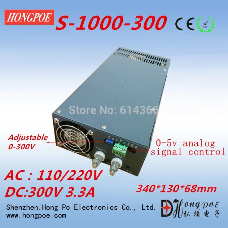 (231.00$)  Watch more here - http://aiyqp.worlditems.win/all/product.php?id=32343699994 - Free Shipping AC110 or 230V 0-5V analog signal control 0-300v adjustable power supply 300V power supply 300V 3.3A 1000W