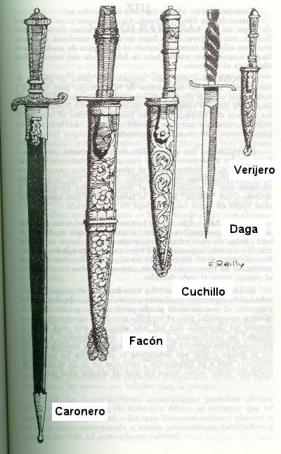 recetas de familia: los Bandini: El facón o cuchillo de gaucho