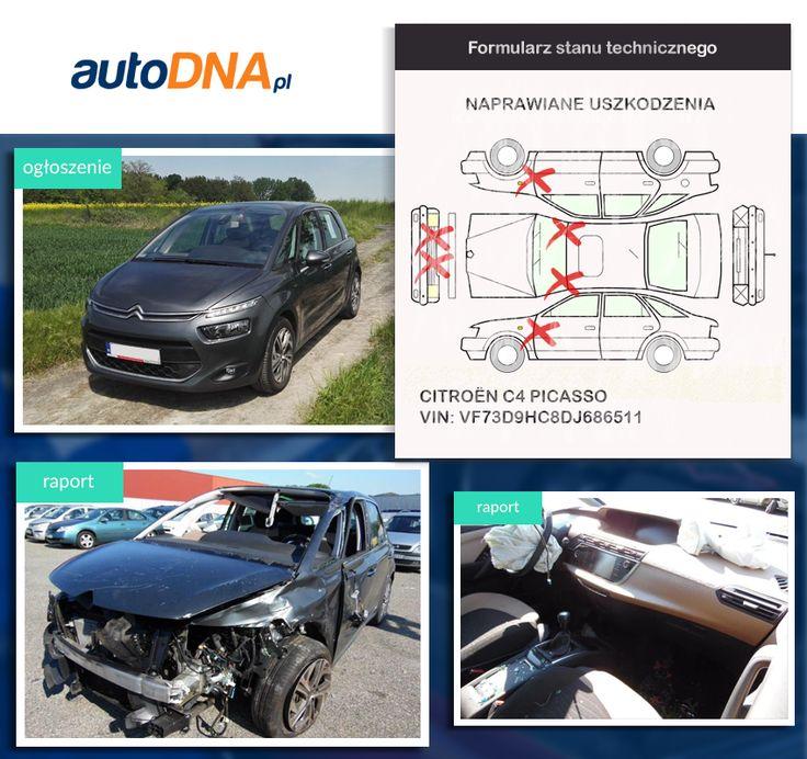 Baza #autoDNA - #UWAGA! #Citroën #C4 #Picasso https://www.autodna.pl/lp/VF73D9HC8DJ686511/auto/7ac86cd9e1ca80c57d1d6fac350b8935f4d535b1 https://www.otomoto.pl/oferta/citroen-c4-picasso-bogata-wersja-nawigacja-kamera-cofania-hak-spalanie5l-maly-przebieg-ID6yUwTT.html