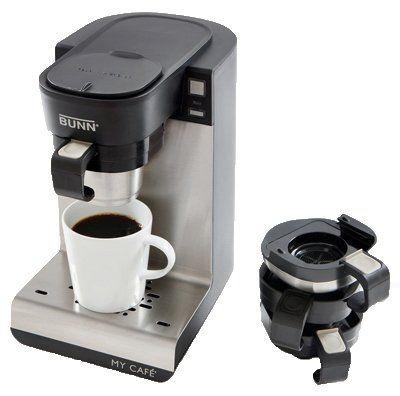 BUNN MCU Single Cup Multi-Use Home Coffee Brewer - http://nespressoshop.net/bunn-mcu-single-cup-multi-use-home-coffee-brewer
