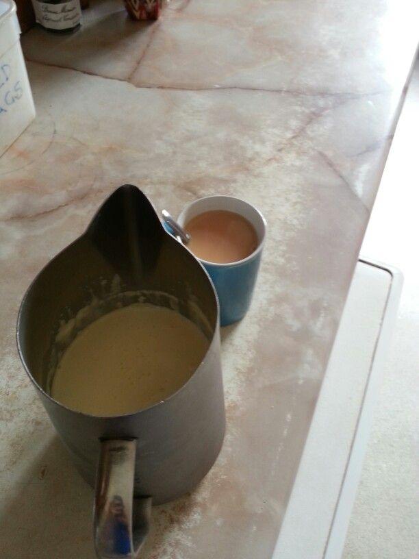 Fresh milk at Monkton