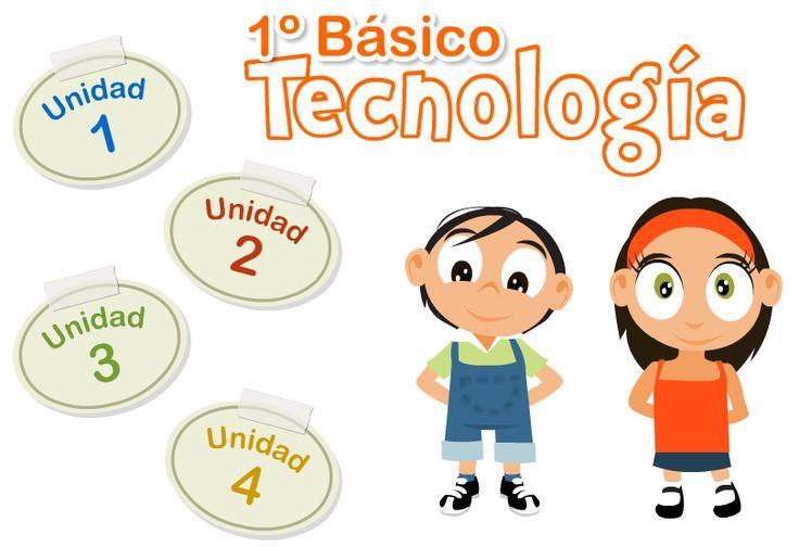 Libro digital de tecnología 1er grado de educación primaria, editado y publicado por el ministerio de educación de Chile.