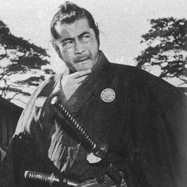 Mifune Toshiro.